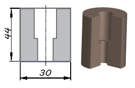 Амортизатор НС-051.795-04